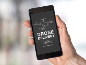 Drohne Zustellung