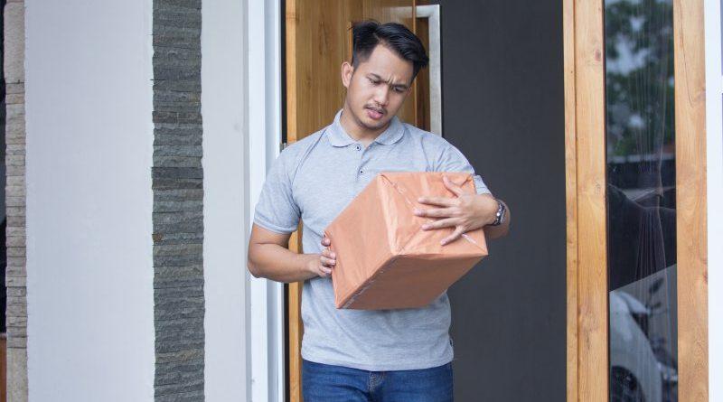 Paket annehmen für Nachbar